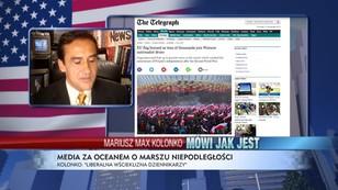 Liberalna wścieklizna dziennikarzy - Mariusz Max Kolonko o Marszu Niepodległości wg amerykańskich mediów