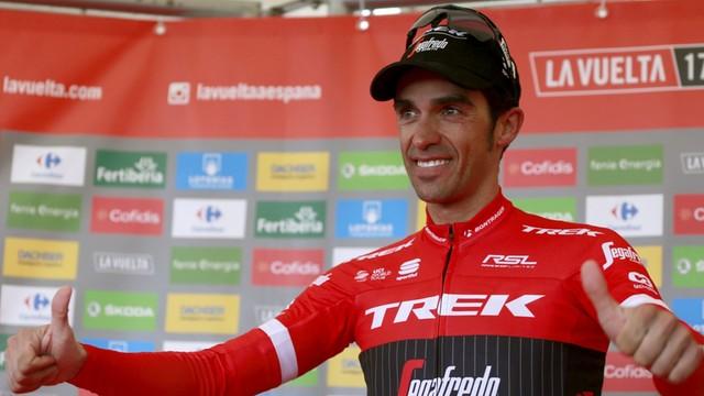 Vuelta a Espana - zwycięstwo Contadora w przedostatnim etapie