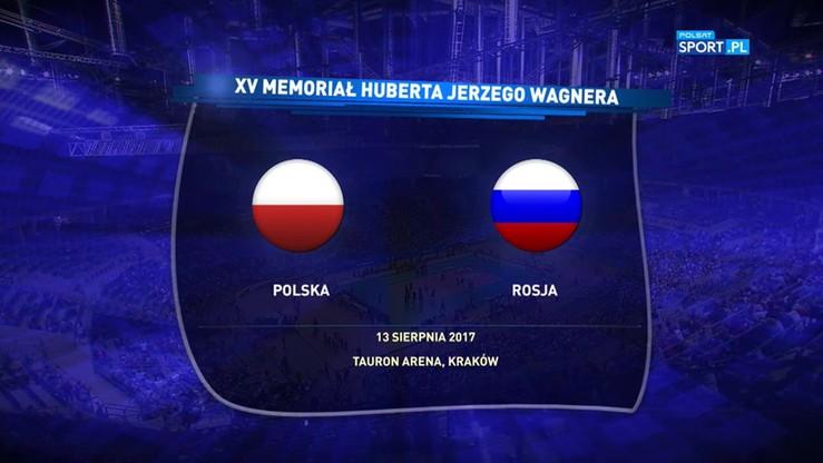 Memoriał Wagnera: Polska - Rosja 3:2. Skrót meczu
