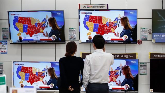Donald Trump potwierdził zaangażowanie USA w obronę Korei Płd.