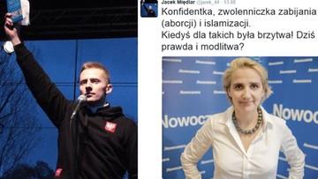 """16-08-2016 11:05 """"Kiedyś dla takich była brzytwa"""" - posłanka Nowoczesnej idzie do prokuratury z wpisem ks. Międlara"""