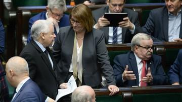 Beata Mazurek została wybrana na stanowisko wicemarszałka Sejmu