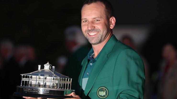 Sergio Garcia wygrał golfowy US Masters w Auguście