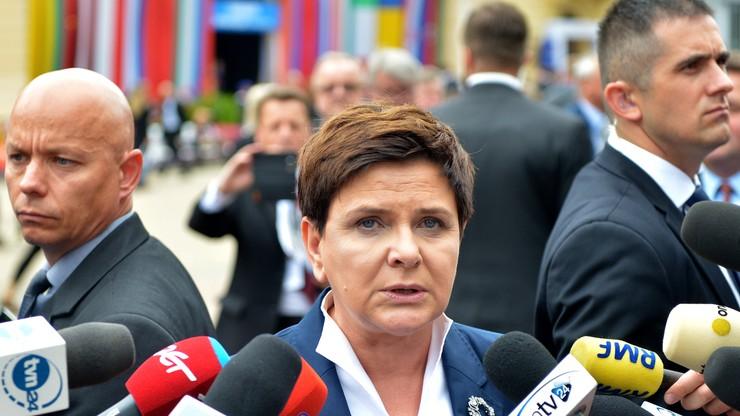 Premier po wypowiedzi Łapińskiego: prezydent podejmuje decyzję wobec swoich pracowników