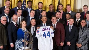 2017-01-16 Prezydent Obama przyjął mistrzów ligi MLB Chicago Cubs