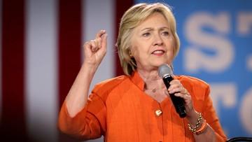 Przewaga Clinton nad Trumpem wzrosła do 7 punktów