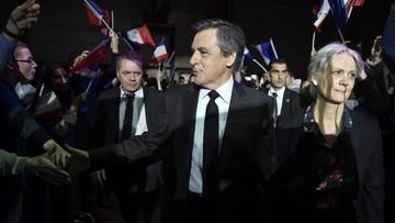 Francja: rewizja w biurach parlamentu w zw. z pracą żony Fillona