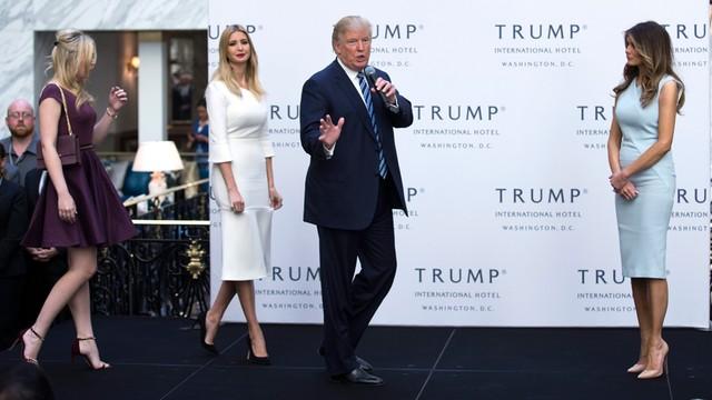 Trump uroczyście otworzył nowy hotel w Waszyngtonie