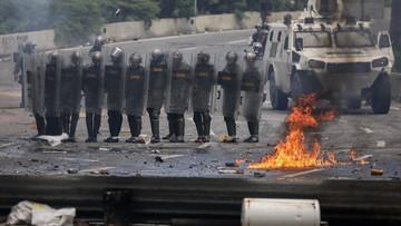 Dwie ofiary starć w Wenezueli. Protest przeciwko zmianom w konstytucji