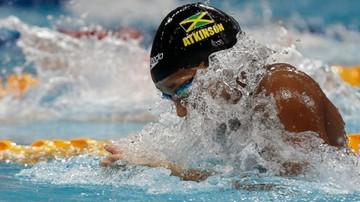 2016-10-26 Rekord świata Atkinson na 50 m stylem klasycznym