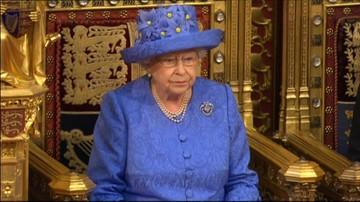 21-06-2017 13:23 Królowa Elżbieta II przedstawiła plany rządu. Wśród najważniejszych propozycji ustawy dot. Brexitu