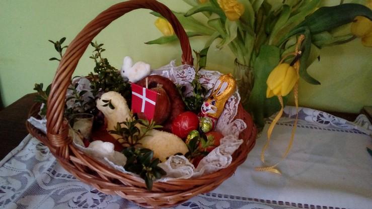 2017-04-16 Wielkanocny koszyczek pani Justyny