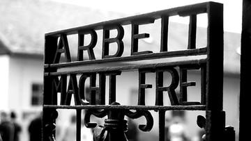 2016-12-02 Odnaleziono  skradziony napis Arbeit macht frei z Dachau. W Norwegii