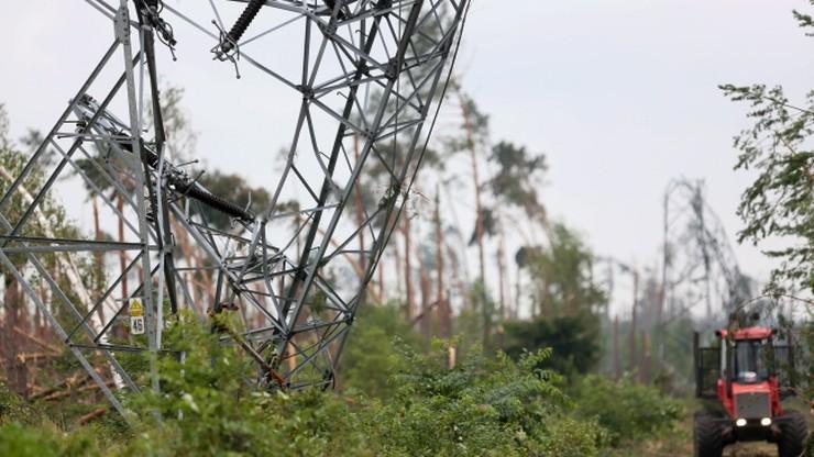 13 tys. odbiorców bez prądu, straty w infrastrukturze 150-200 mln. Najnowsze dane po nawałnicach