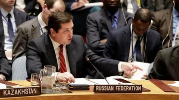 07-04-2017 22:03 Rosja potępiła w ONZ akcję USA w Syrii jako nielegalną