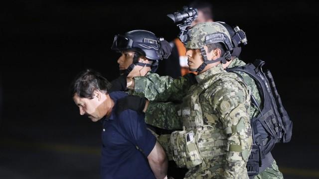 Meksyk otwiera proces ekstradycji do USA bossa narkotykowego El Chapo