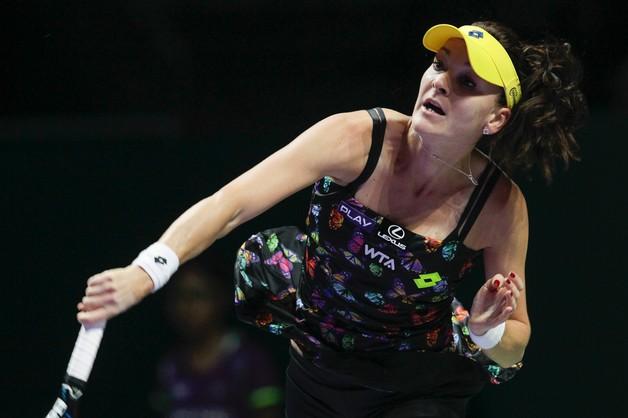 WTA Finals: pojedynek Radwańska vs. Szarapowa