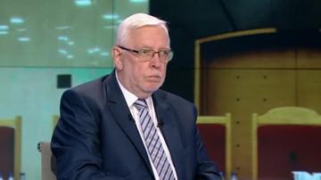 Jerzy Stępień o orzeczeniu Trybunału Konstytucyjnego: jest nietrafne