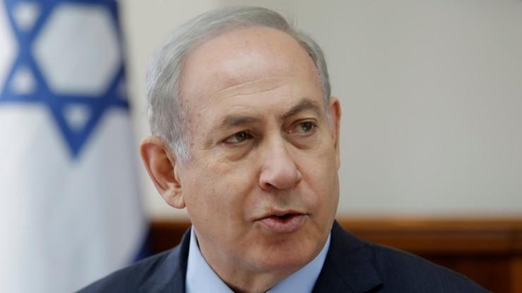 Premier Izraela oczekuje pozytywnych zmian w negocjacjach pokojowych z Palestyńczykami