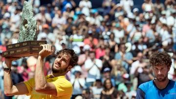 2016-07-24 Turniej ATP w Gstaad: Lopez pokonał Haasego w finale