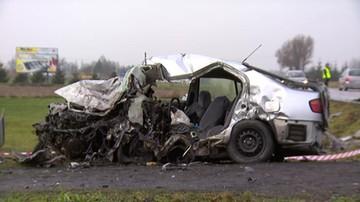 Tragiczny wypadek w Lubelskiem. 2 osoby nie żyją