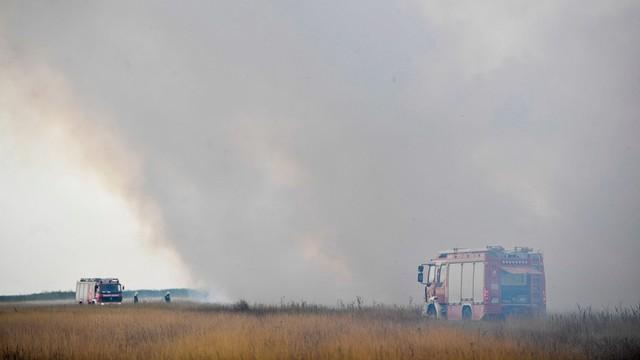 Węgry: pożar w Parku Narodowym Hortobagy