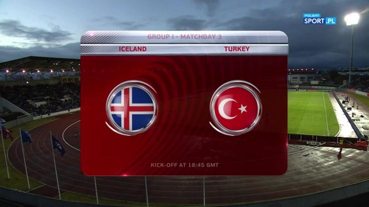 2016-10-09 Islandia - Turcja 2:0. Skrót meczu