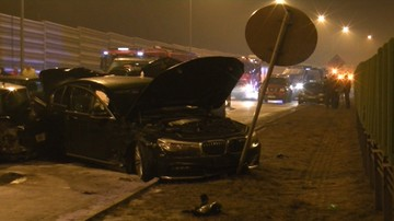 24-10-2017 16:12 Wypadek szefa MON. Kierowca żandarmerii wojskowej usłyszał zarzut spowodowania kolizji
