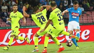 Dwa gole rezerwowego Milika dla Napoli
