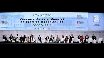 05-02-2017 19:02 Światowy Szczyt Noblistów wzywa do walki z plagami dręczącymi ludzkość
