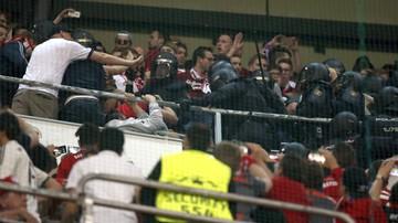2017-04-19 Hiszpańska policja starła się z kibicami Bayernu Monachium!