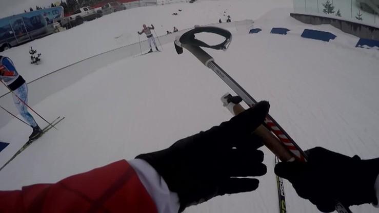 Biegnij razem z biathlonistą, czyli GoPro na trasie
