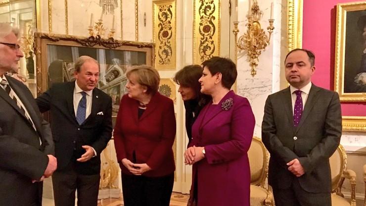 """""""Pragmatyzm, chłodna przyjaźń"""". Niemieckie media o wizycie Merkel w Polsce"""