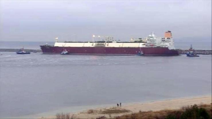 Ekspresowy rozładunek w gazoporcie. Metanowiec wraca do Kataru wcześniej niż przewidywano