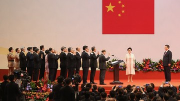 01-07-2017 06:23 Zaprzysiężono nowy rząd Hongkongu