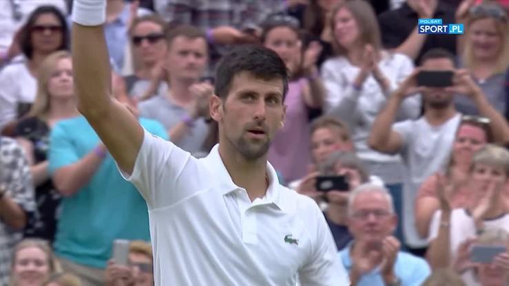Djokovic ostatnim ćwierćfinalistą Wimbledonu 2017