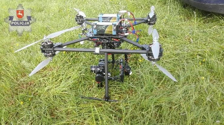 Szukali paralotniarza, a to był dron