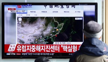 06-01-2016 13:15 Korea Północna przeprowadziła test bomby wodorowej