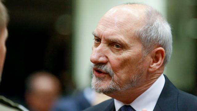 Macierewicz: bezpieczeństwo Ukrainy jest dla Polski zasadnicze