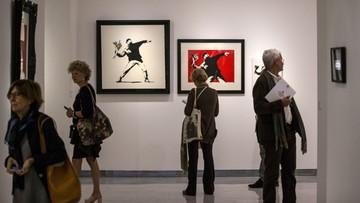 24-05-2016 06:29 Banksy w Rzymie. Największa na świecie wystawa prac
