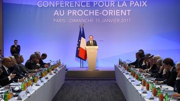 Konferencja o rozwiązaniu konfliktu bliskowschodniego. W. Brytania dystansuje się od jej wyników