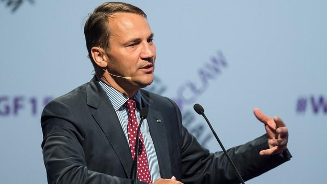 Sikorski: UE i USA muszą trzymać się razem, by sprostać wyzwaniom