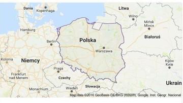 10-11-2016 12:16 Mapy Google oddały część Polski Rosji
