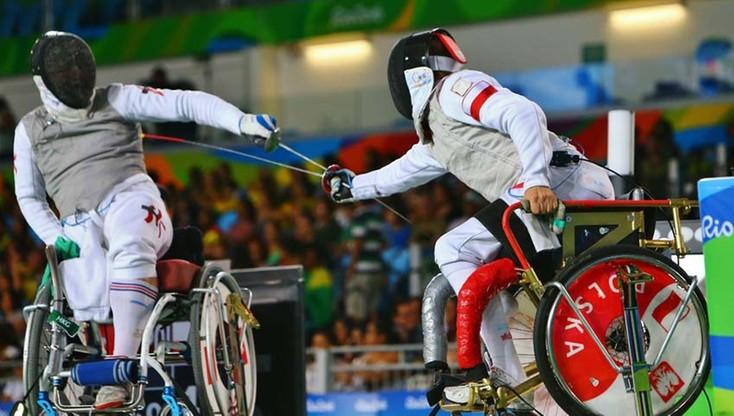 Paraolimpiada: srebrny medal polskich florecistów