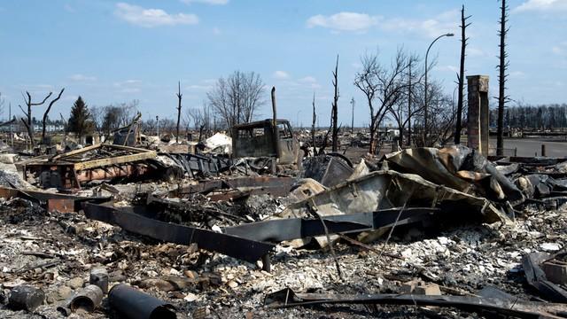 Kanada: pożary wciąż szaleją, straty w branży naftowej