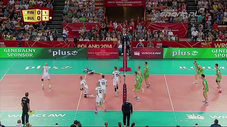 Finlandia - Bułgaria 3:0. Skrót meczu