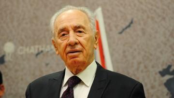 14-01-2016 14:57 Szimon Peres w szpitalu. Miał zawał