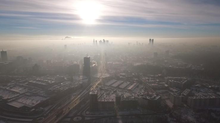 Smog nad Warszawą. Normy przekroczone prawie o 300 proc.