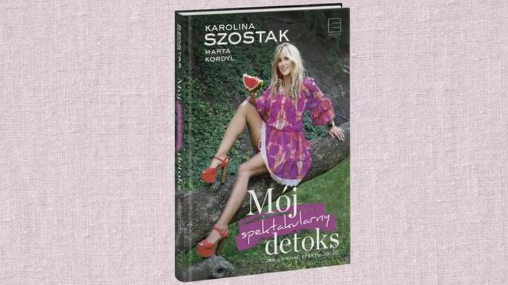 Zabawa Polsatsport.pl: Do zdobycia książki Mój spektakularny detoks z autografem!