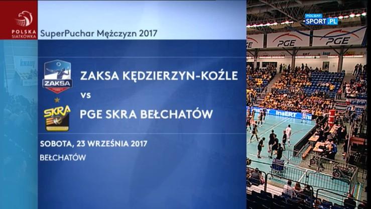 PGE Skra Bełchatów - ZAKSA Kędzierzyn-Koźle 3:1. Skrót meczu